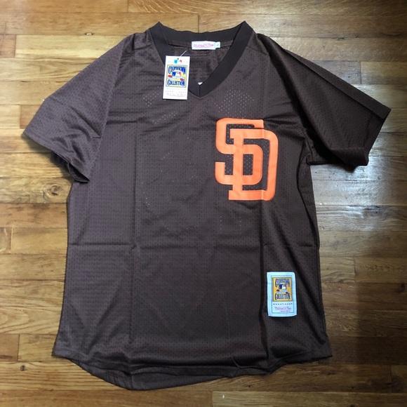 size 40 4b1f0 5ade0 NWT Tony Gwynn SD Padres MLB Retro Jersey Large NWT